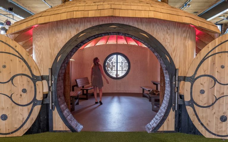 A Peek Inside Mill 180 Park :: I've Been Bit! A Travel Blog