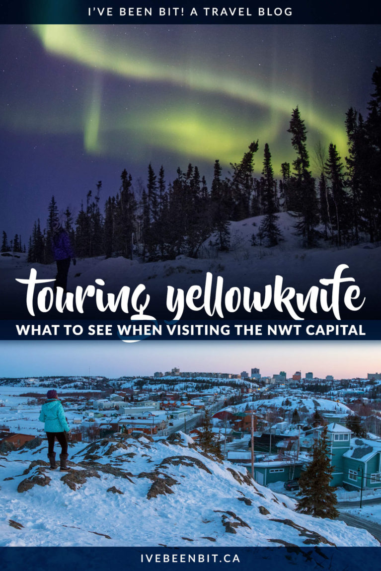 One of the first things to do in Yellowknife, Canada is to take a tour of the city and get acquainted. Inside you'll find all the things you should see on a tour as well as additional Yellowknife tours. From Northern Lights tours to dog sledding and more, this guide will ensure you have an amazing experience in the Northwest Territories! | #Yellowknife #NorthwestTerritories #Canada #NorthernLights #AuroraBorealis | IveBeenBit.ca