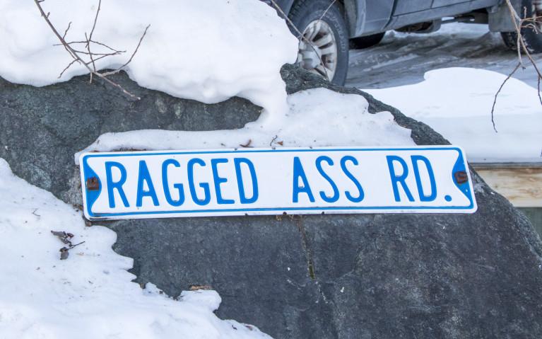 Ragged Ass Road, A Yellowknife Staple! :: I've Been Bit! A Travel Blog