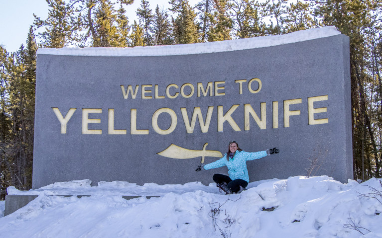A Yellowknife Tourism Classic! :: I've Been Bit! A Travel Blog
