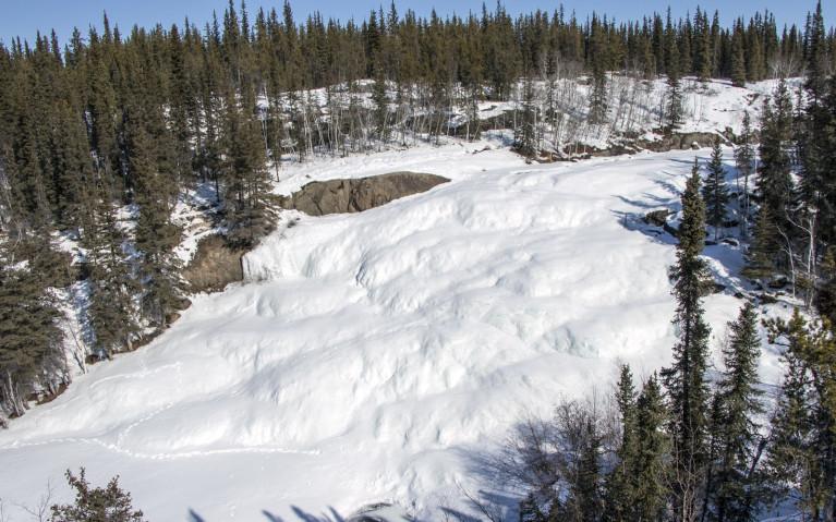 Cameron Falls - A Must-Do Yellowknife Winter Activity! :: I've Been Bit! A Travel Blog
