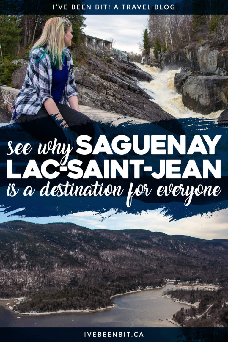 A lesser-known area of Quebec, there is so much to do in Saguenay Lac-Saint-Jean! Check out these ideas for your itinerary and travel to Saguenay Lac-Saint-Jean! | #Travel #Canada #Quebec #Saguenay #Hiking #Tour #Food | IveBeenBit.ca