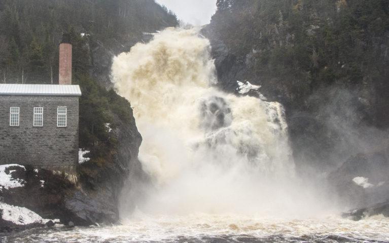 Ouiatchouan Falls in Val Jalbert :: I've Been Bit! A Travel Blog