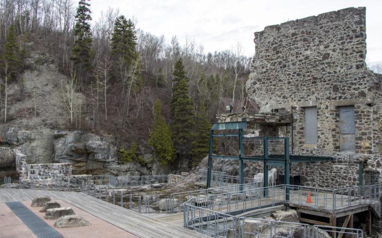 Ruins of La Pulperie de Chicoutimi :: I've Been Bit! A Travel Blog