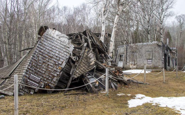 The Remnants of Val Jalbert, Lac St Jean Québec :: I've Been Bit! A Travel Blog