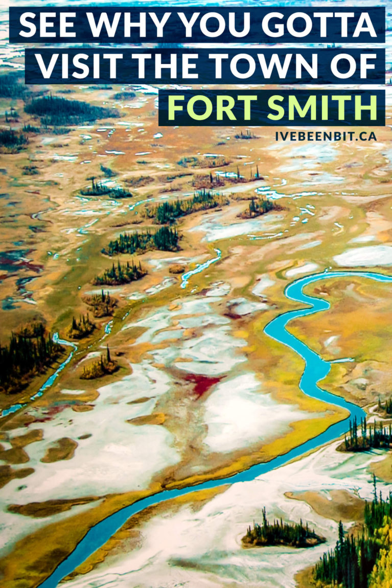 Things to do in Fort Smith, NWT, Canada. When exploring the Canadian north, Fort Smith in the Northwest Territories may not be on your radar but it's full of small town charm. | #Travel #Canada #NorthwestTerritories #NWT #RoadTrip | IveBeenBit.ca