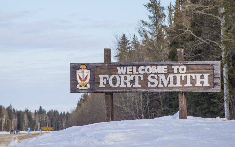 Say Hello to Fort Smith, NWT! :: I've Been Bit! A Travel Blog