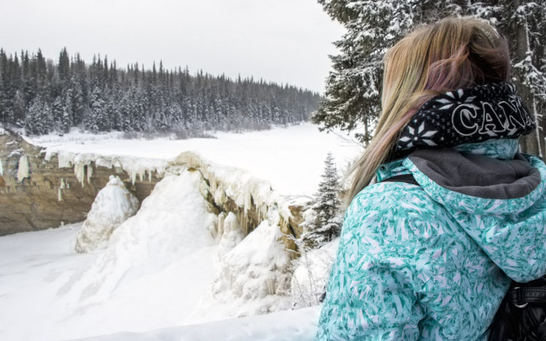 Alexandra Falls in the Northwest Territories :: I've Been Bit! A Travel Blog