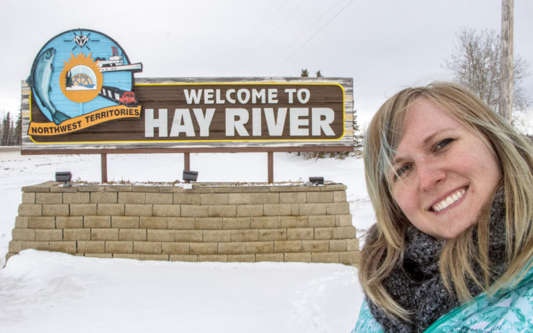 Hay River NWT, You Stole My Heart! :: I've Been Bit! A Travel Blog