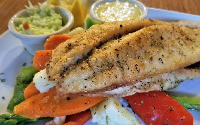 Great Slave Lake Whitefish at The Doghouse Pub :: I've Been Bit! A Travel Blog