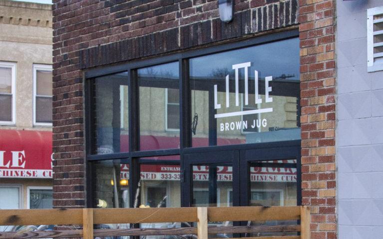 Outside of Little Brown Jug Brewing Co :: I've Been Bit! A Travel Bug