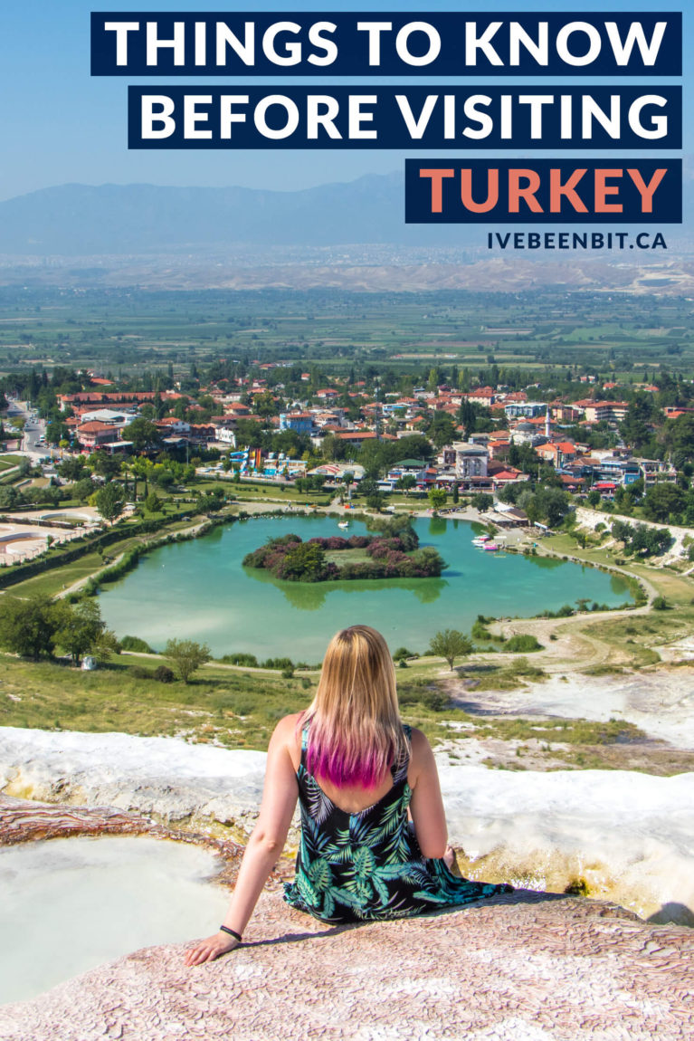 Turkey travel advice. Before thinking about the things to do in Turkey or things to do in Istanbul, check out these travel tips that are essential for anyone visiting Turkey for the first time! Turkey travel tips for first time visitors. | #Travel #Europe #Asia #Turkey #TravelTips | IveBeenBit.ca