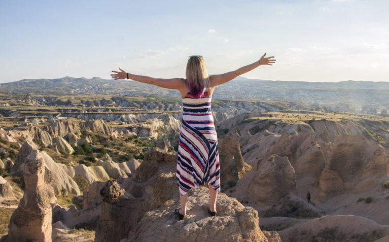 What Not To Do In Turkey? Fall Off a Cliff Like I Almost Did Here! :: I've Been Bit! A Travel Blog