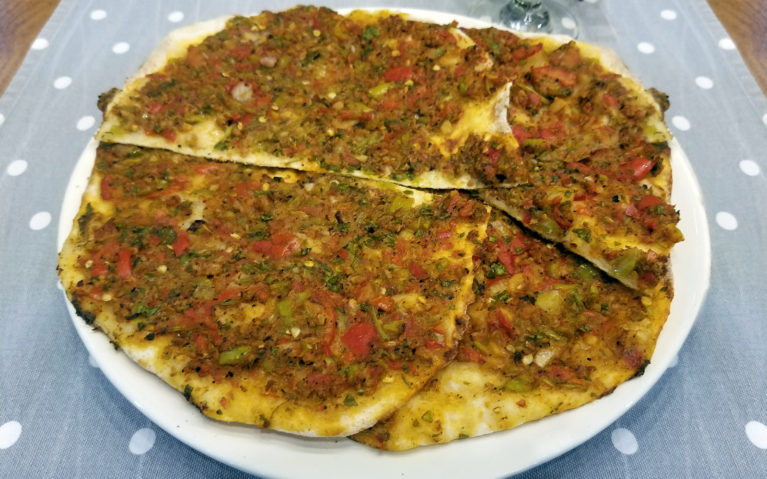 Lahmacun is a Delicious Turkish Dish & Could be Considered Turkish Fast Food too! :: I've Been Bit! A Travel Blog
