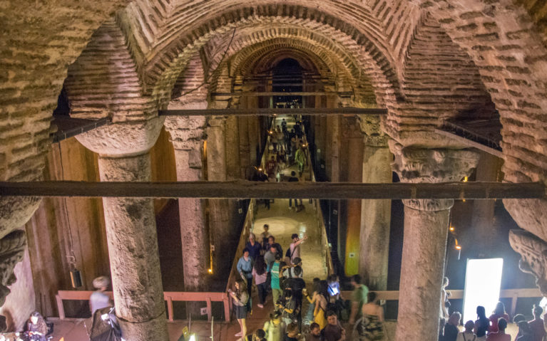 Visit Istanbul Turkey and See the Basilica Cistern :: I've Been Bit! A Travel Blog