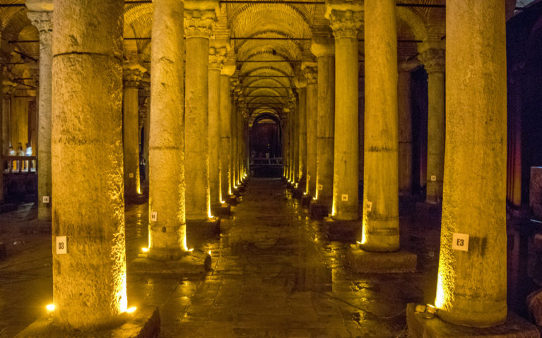 What to Visit in Istanbul? The Basilica Cistern :: I've Been Bit! A Travel Blog