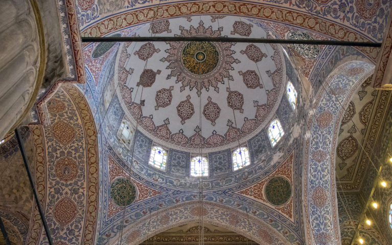 The Intricacy Inside the Blue Mosque is Astounding! :: I've Been Bit! A Travel Blog