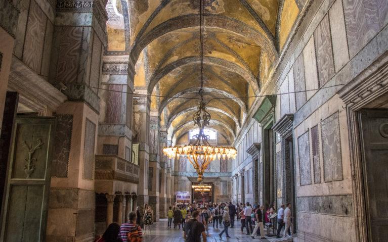 Hagia Sophia Hallway :: I've Been Bit! A Travel Blog