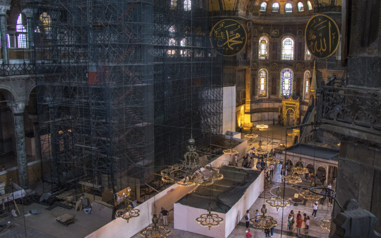 Inside Turkey's Hagia Sophia :: I've Been Bit! A Travel Blog