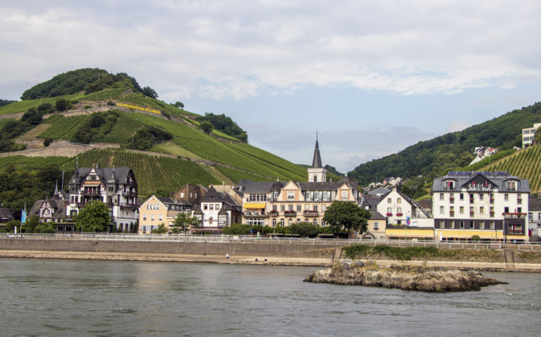 View from Assmanshausen from the Rhine River :: I've Been Bit! A Travel Blog