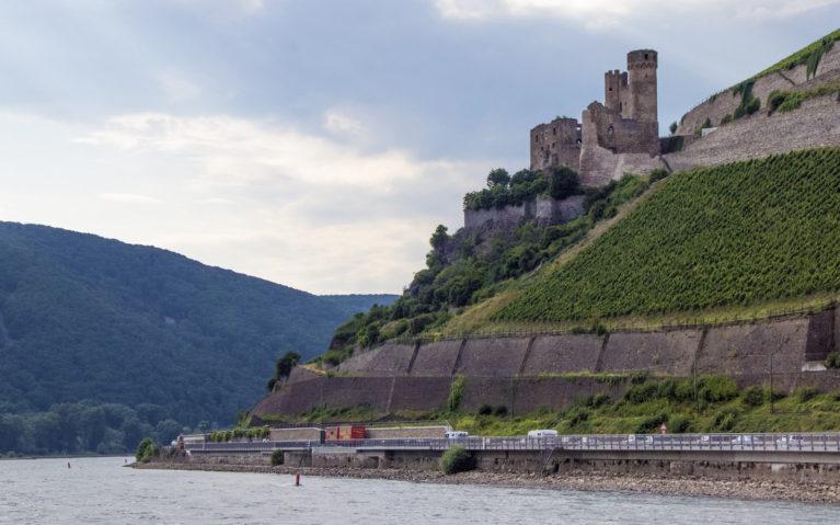 Burg Ehrenfels from the Rhine River :: I've Been Bit! A Travel Blog