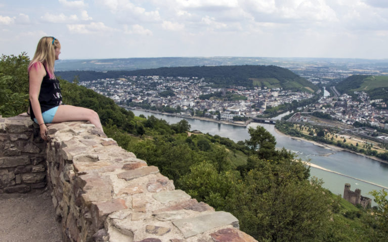 View of the Rhine River from the Rossel :: I've Been Bit! A Travel Blog
