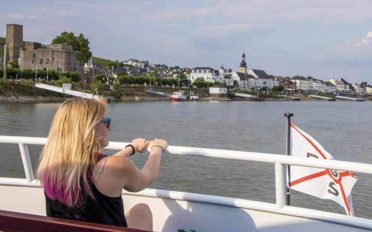 Rudesheim Boat Tour Views :: I've Been Bit! A Travel Blog