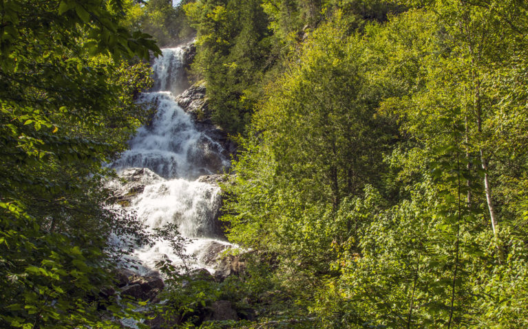 South Black Beaver Falls :: I've Been Bit! A Travel Blog