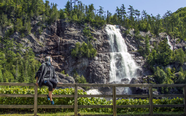 Hanging Out with Bridal Veil Falls :: I've Been Bit! A Travel Blog