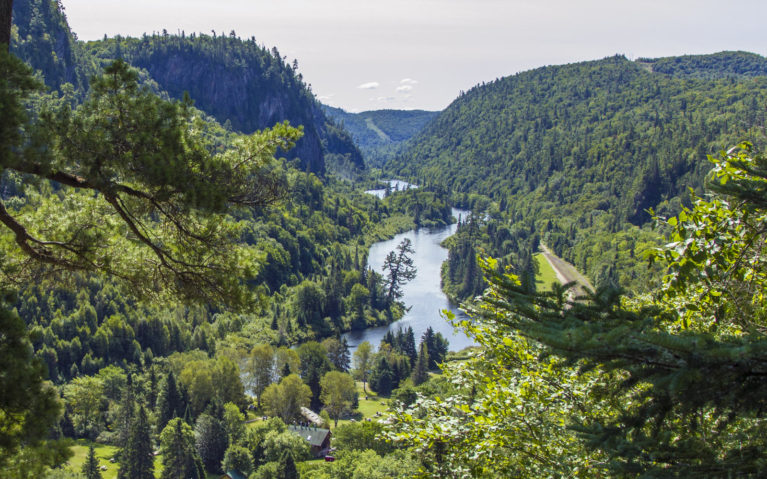 Unreal Views of The Agawa Canyon :: I've Been Bit! A Travel Blog