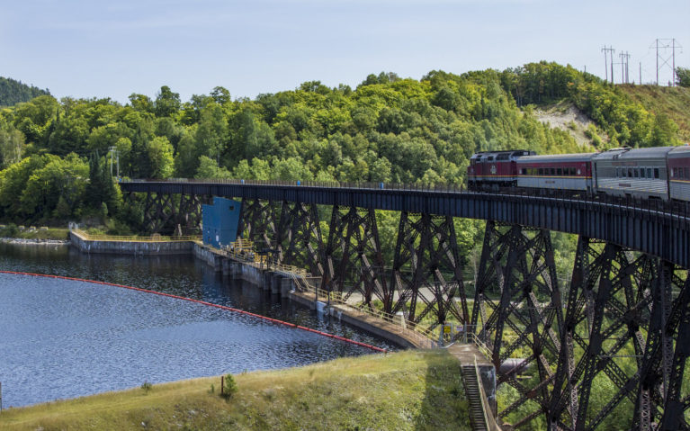 Trussel Along the Agawa Canyon Railway :: I've Been Bit! A Travel Blog