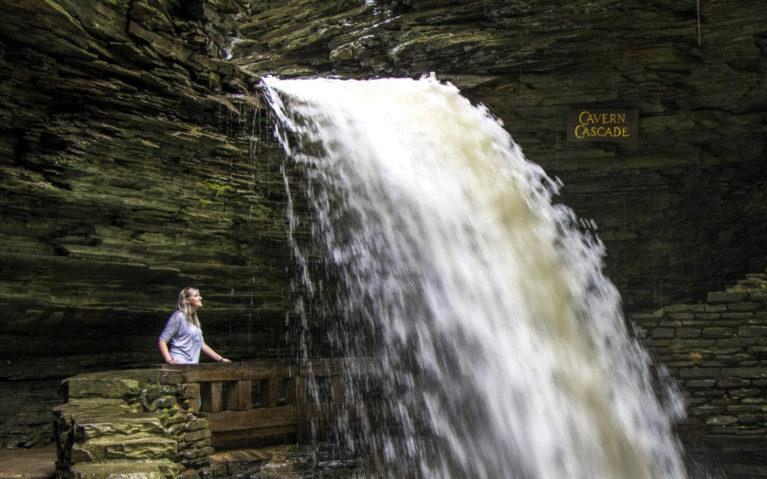 Cavern Cascade Watkins Glen :: I've Been Bit! A Travel Blog
