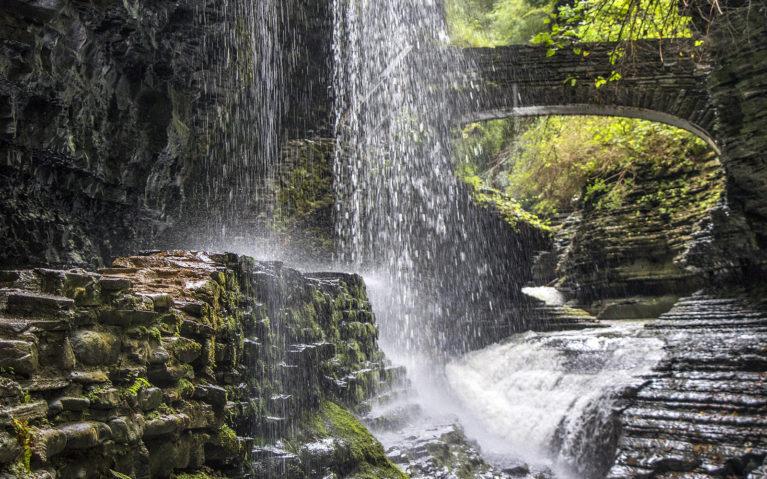Falls Watkins Glen :: I've Been Bit! A Travel Blog