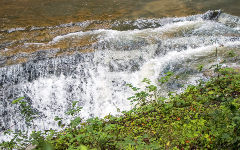 One of the Many Waterfalls in NY State Parks :: I've Been Bit! A Travel Blog
