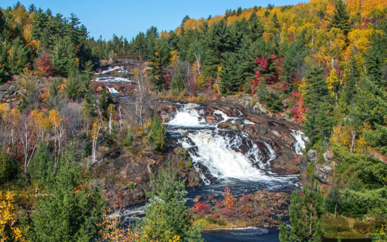 Onaping Falls Outside of Sudbury in the Autumn Months :: I've Been Bit! Travel Blog