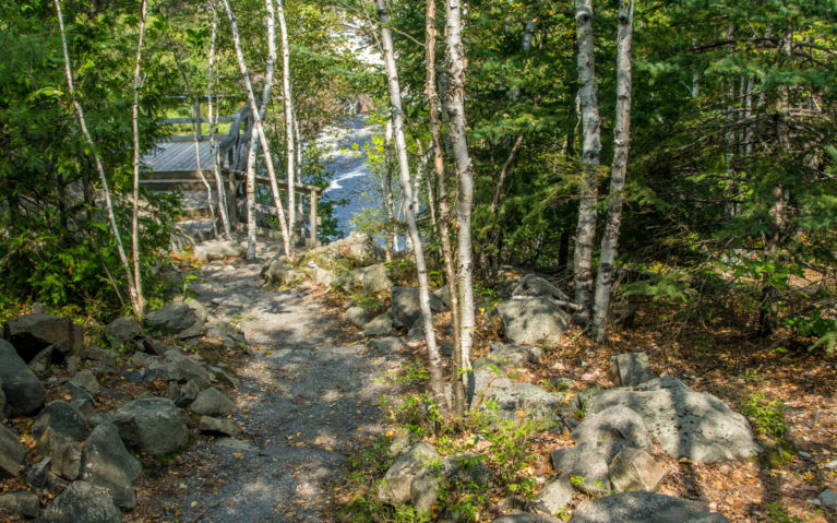 Heading Along the Onaping Falls Trail :: I've Been Bit! A Travel Blog
