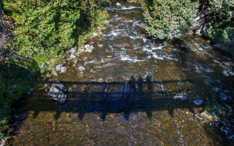 View from the Belfountain Conservation Area Bridge :: I've Been Bit! A Travel Blog