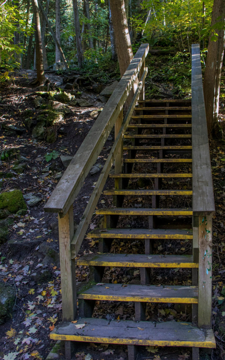 Hiking, One of the Great Things to Do in Belfountain Ontario! :: I've Been Bit! A Travel Blog