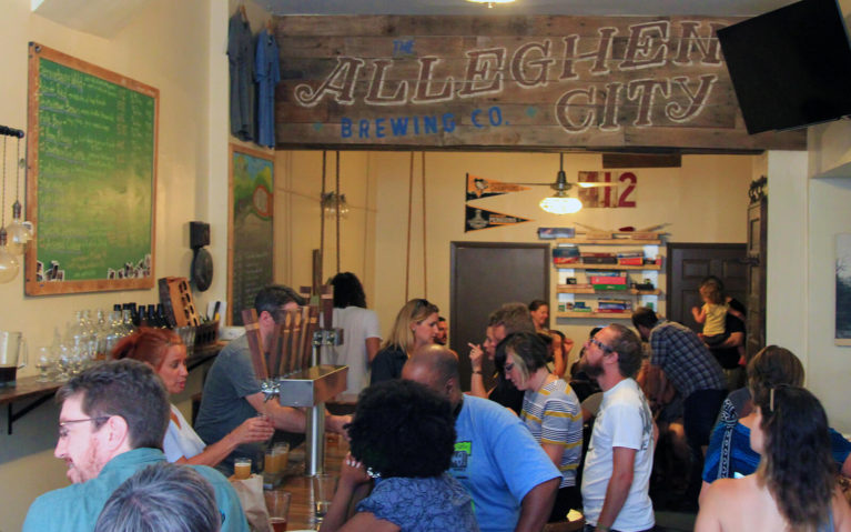 Allegheny City Brewing in Pittsburgh :: I've Been Bit! A Travel Blog