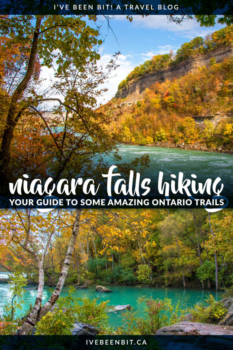 The Niagara Escarpment is full of unique hiking trails, caves, cliff faces for rock climbing and even some waterfalls. If you're looking for hiking that offers amazing views, stellar fall foliage & a lot less people then you have to check out these Niagara Falls hiking trails! Top hiking trails in Niagara Falls Ontario Canada. | #Travel #Canada #Ontario #NiagaraFalls #Hiking | IveBeenBit.ca