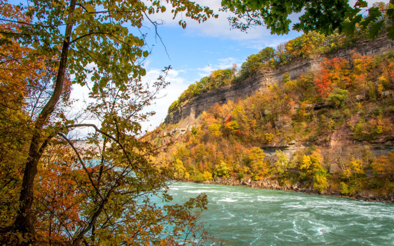 Fall Colours and the Niagara River :: I've Been Bit! A Travel Blog