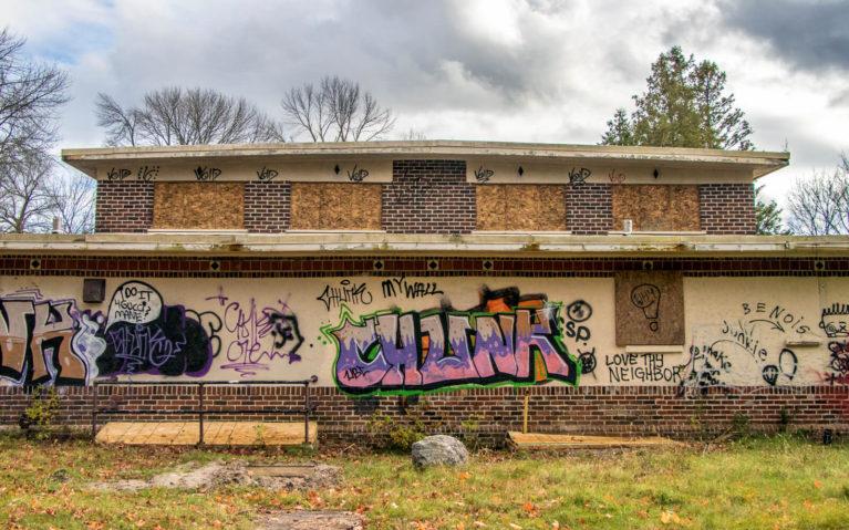 Vandalism at the Camp 30 Site :: I've Been Bit! A Travel Blog