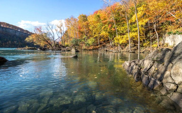 Views of The Cripps Eddy Along the Niagara Glen Hike :: I've Been Bit! Travel Blog