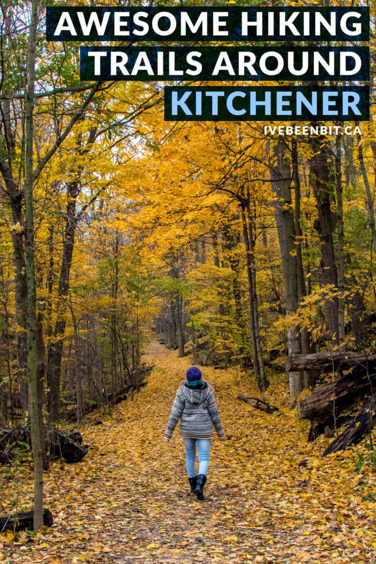 Check out these awesome Kitchener trails! These amazing hikes are just one of the great things to do in Waterloo Region. Hiking trails in Ontario, Canada. Walking trails in Kitchener-Waterloo. | #Travel #Hiking #Kitchener #WaterlooRegion #Ontario #Canada | IveBeenBit.ca