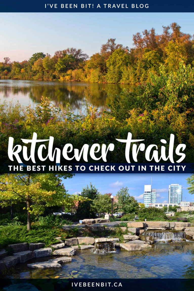 Hiking is just one of the many great things to do in Kitchener, Ontario, Canada. Check out the best hiking trails in Kitchener! These amazing hikes are just the dose of nature you need in Waterloo Region. Hiking trails in Ontario, Canada. Walking trails in Kitchener-Waterloo. | #Travel #Hiking #Kitchener #WaterlooRegion #Ontario #Canada | IveBeenBit.ca