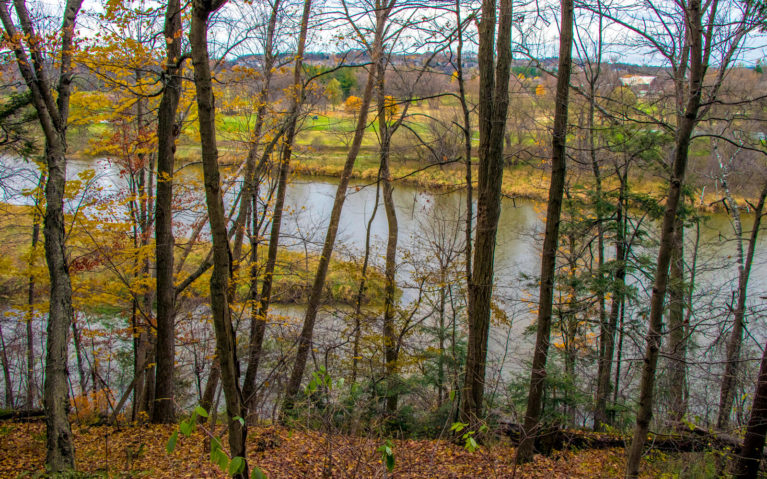 Views of the Grand River :: I've Been Bit! A Travel Blog