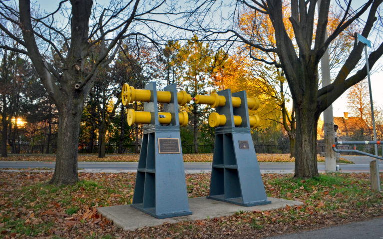 Artefacts along the Iron Horse Trail in Kitchener Waterloo :: I've Been Bit! A Travel Blog