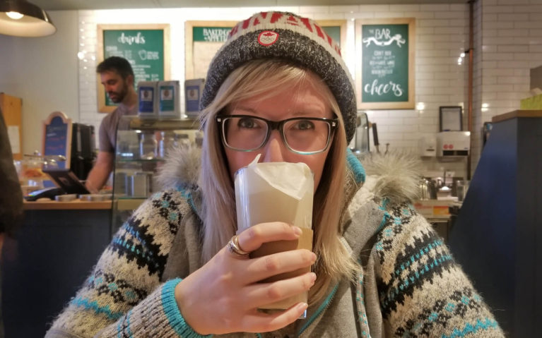 I Just Can't Resist a Cute Kitchener Coffee Shop! :: I've Been Bit! A Travel Blog