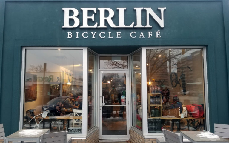 Berlin Bicycle Cafe, a Unique Coffee Shop in Kitchener's Belmont Village :: I've Been Bit! A Travel Blog
