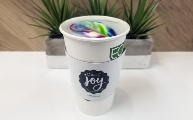 Cafe Joy has the Prettiest Lattes of all the Coffee Shops in Kitchener :: I've Been Bit! A Travel Blog